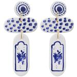 Aseman Ceramic 1773109-0159 Earrings For Women