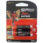 Silicon Power Super Alkaline AA Battery Pack of 2