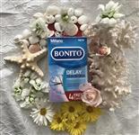 کاندوم تاخیری و نازک بونیتو بسته 16 عددی Bonito Delay Skin to Skin