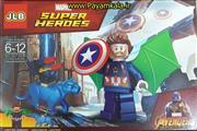 اسباب بازی لگو شخصیت کاپیتان آمریکا و پلنگ مکانیکی