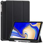 Ztotop Case for Samsung Galaxy Tab S4 10.5 Inch 2018 with S Pen Holder- Lightweight Slim Trifold Stand Cover with Auto Sleep/Wake for Samsung Tab S4 10.5 Inch Tablet SM-T830 /T835/T837-Black