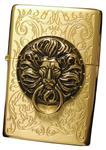 Zippo Lighter Genuine Tiger Lion Design the Gate Gd Emblem