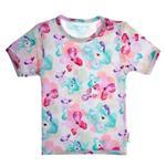 تی شرت نوزادی دخترانه بی بی ناز کد 327