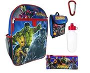 Marvel Avengers Infinity War Backpack 5-Piece Set