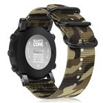Fintie for Suunto Core Watch Band, Premium Woven Nylon Replacement Sport Strap with Metal Buckle for Suunto Core Smart Watch, Camo