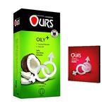 کاندوم اورز مدل + OILY بسته 12 عددی به همراه کاندوم مدل بلیسر
