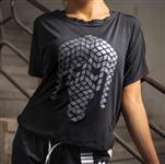تی شرت زنانه آستین خفاشی ریباک Reebok Lady's T-shirt
