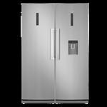 یخچال و فریزردوقلو ایکس ویژن مدل XR-D600SI XF-D600SI - نقره ای