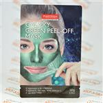 ماسک صورت پیوردرم PUREDERM مدل GREEN PEEL-OFF