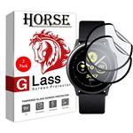 محافظ صفحه نمایش نانو هورس مدل FSN مناسب برای ساعت هوشمند سامسونگ Watch Active بسته دو عددی