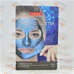 ماسک صورت پیوردرم PUREDERM مدل DIAMOND GLITTER BLUE