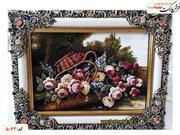 تابلو فرش گلدان 1