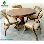 صندلی ناهار خوری چوبی کد s132