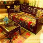 تخت چوبی سنتی 170*60 کد CH600