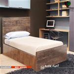 تخت خواب یک نفره مدل آنتیک Antik