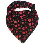 روسری زنانه سمیکا طرح شقایق کد C256