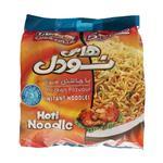 هاتی نودل با عصاره مرغ هاتی کارا مقدار 77 گرم بسته 4 عددی به همراه 1 بسته هدیه  Hoti Kara Chicken Flavour Hoti Noodle 77gr 4 Pack With 1 Gif Pack