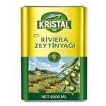 روغن زیتون تصفیه شده کریستال طلایی مقدار 4 کیلوگرم
