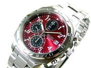 SEIKO Seiko Chronograph Men's Watch SND495 Red