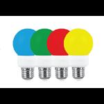 لامپ ال ای دی 1 وات حبابی رنگی پارس پایه E27