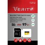 رم وریتی Verity Micro Class 10 U1 95MB/S 32GB