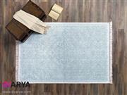 قالیچه فانتزی طرح Blanca آبی برند Tac