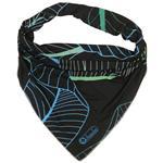 روسری زنانه سمیکا طرح برگ استوایی کد C265
