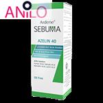 محلول ضدجوش موضعی آردن40 AZELIN حجم 30