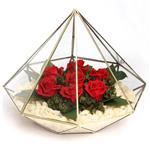 رز جاودان آبگینه الماس هفت گل