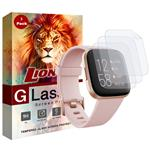 محافظ صفحه نمایش نانو لایونکس مدل FSP مناسب برای ساعت هوشمند فیت بیت Versa 2 بسته سه عددی
