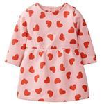 پیراهن نوزادی دخترانه لوپیلو کد VE014