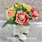 گل و گلدان سرامیکی