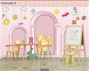 پوستر دیواری طرح کودک DP-2913