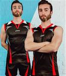 تیشرت و شورت والیبال اسیکس Volleyball Nations league Asics