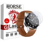 محافظ صفحه نمایش نانو هورس مدل FSN مناسب برای ساعت هوشمند هوآوی Watch GT 2 سایز 42 میلی متر  بسته دو عددی