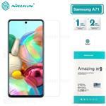 محافظ صفحه شیشه ای نیلکین سامسونگ Samsung Galaxy A71 2019 / Note 10 Lite Nillkin H+ Pro