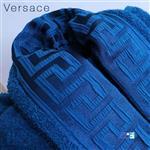حوله تن پوش لاله تبریز(LALEH) رنگ آبی سایز125