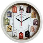 ساعت دیواری سیتیزن طرح روزنامه ای کد 148149150