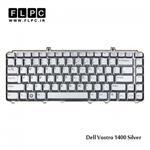 کیبورد لپ تاپ دل Dell laptop keyboard Vostro 1400 نقره ای
