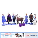 پک فیگور شخصیت های فروزن 7 عددی Frozen figure set