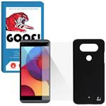 Huanmin HC-004 Cover For LG Q8 with GOOF SDG-02 Screen Protector