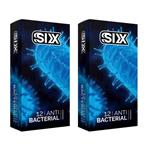 کاندوم سیکس مدل Anti Bacterial مجموعه 2 عددی
