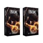 کاندوم سیکس مدل Super Largo مجموعه 2 عددی