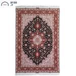 فرش دستباف قالیچه3 متری هریس مشکی تبریز