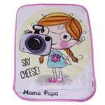 زیرانداز تعویض نوزاد ماما پاپا طرح عکاسی کد 211