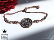 دستبند نقره طرح پارمیدا زنانه - کد 49647