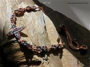 دستبند نقره طرح ستایش زنانه - کد 49733