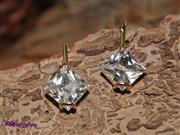 گوشواره استیل طرح الماس کد G 5043