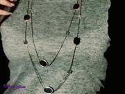 گردنبند رومانتویی استیل بلند RM 9009