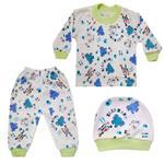 ست 3 تکه لباس نوزاد کد G-006